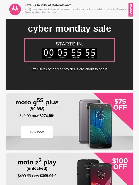Motorola Mobility Big Cyber Monday Savings On Motorola Phones Milled