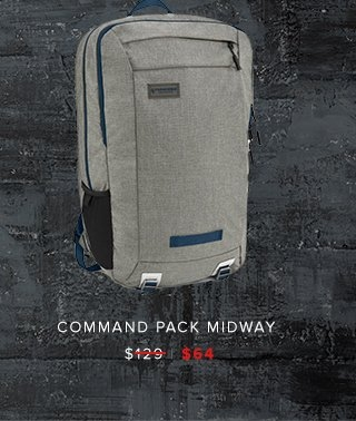 Command Pack Midway was $129 | now $64