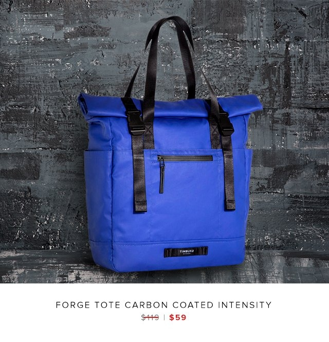 Forge Tote Carbon Coated Intensity was $119 | now $59