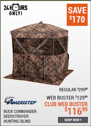 Ameristep Buck Commander Deerstroyer Hunting Blind