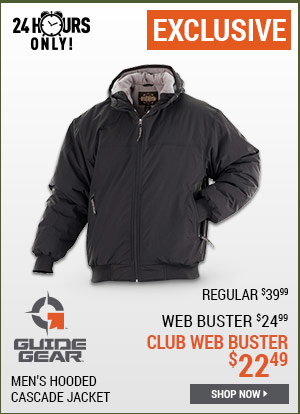 Guide Gear Men's Hooded Cascade Jacket