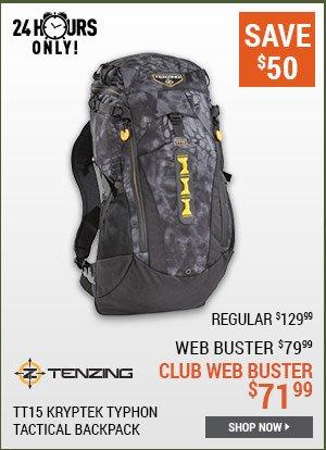 Tenzing TT15 Kryptek Typhon Tactical Backpack