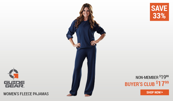 Guide Gear Women's Fleece Pajamas