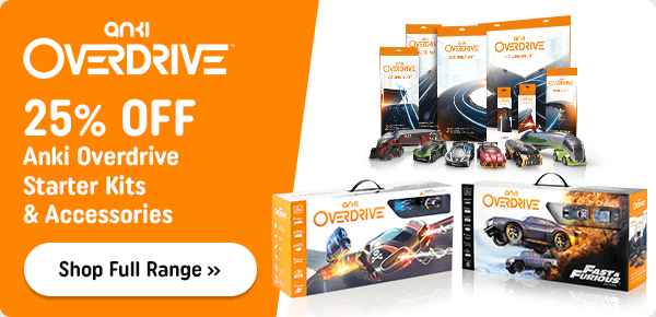 Anki Overdrive Accessories and Vehicles