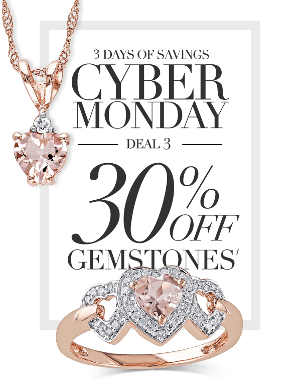 Reeds Jewelers Cyber Monday Is Here 30 Off Gemstones Milled