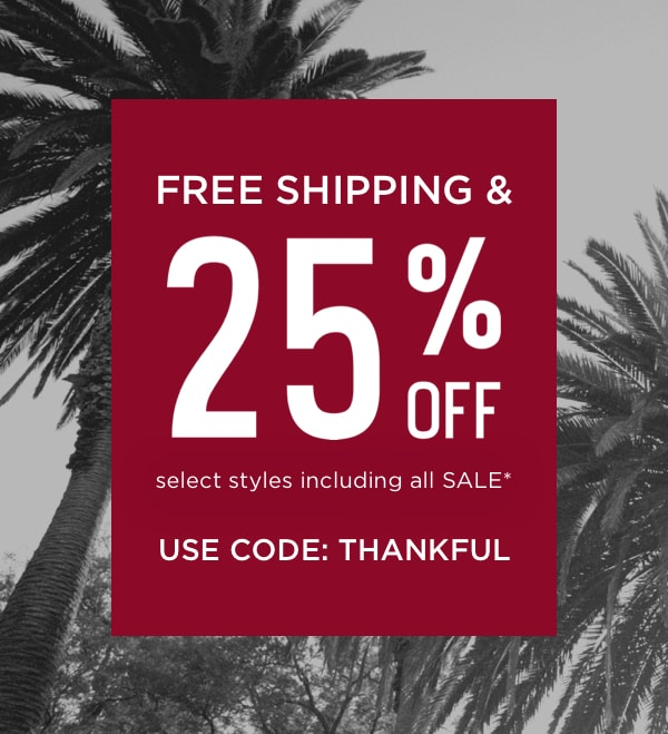 Use Code: THANKFUL