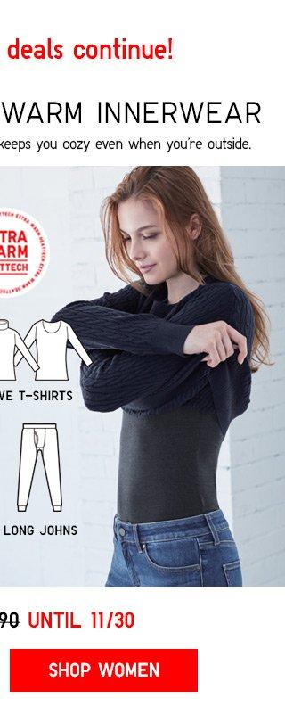 $14.90 HEATTECH Extra Warm - Shop Women