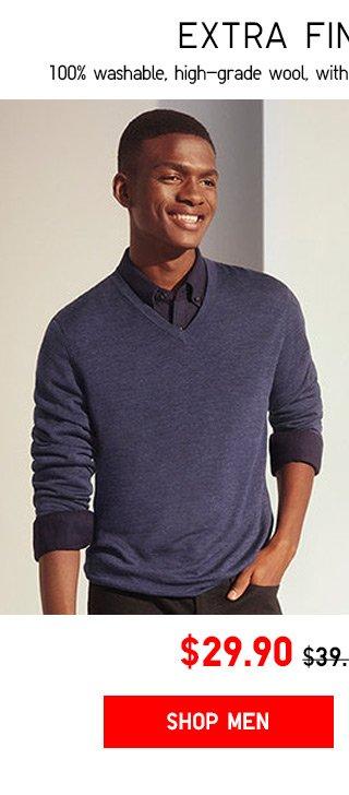$29.90 Extra Fine Merino Sweaters - Shop Men
