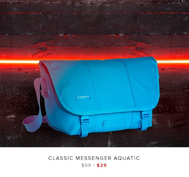 Classic Messenger Aquatic was $99 | now $29