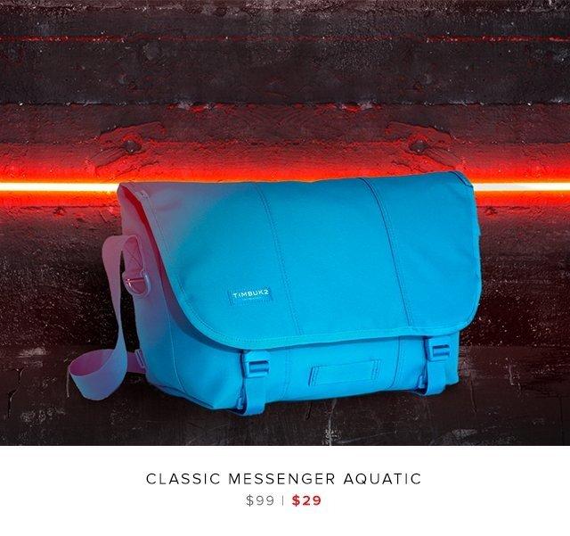 Classic Messenger Aquatic was $99 | now $29