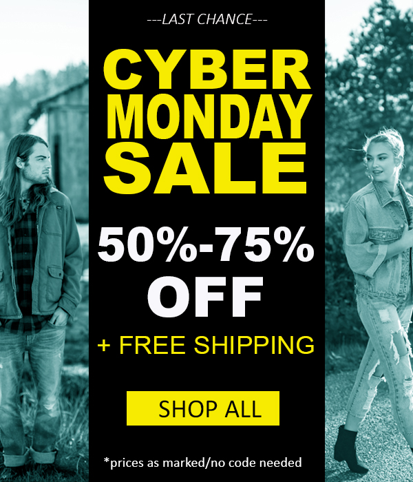 Enjoy 50%-75% Off Sitewide + Free Shipping on Any Order Prices as Marked |  No Code Needed Ends Tonight, 11/27