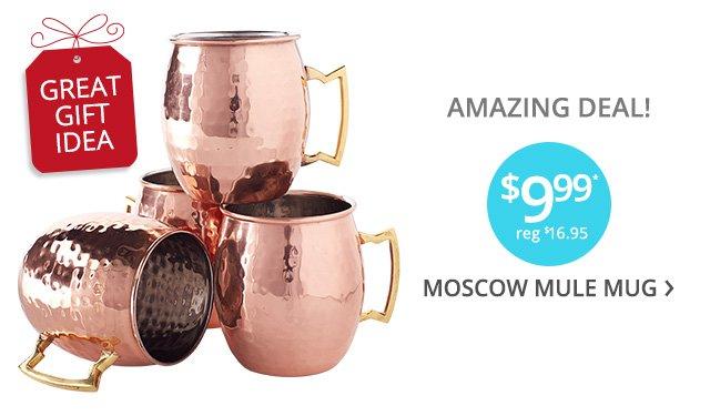 AMAZING DEAL! $9.99 Moscow Mule Mug