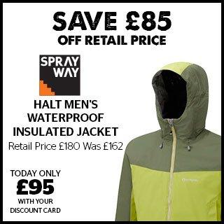 Sprayway Halt Men's Waterproof Insulated Jacket