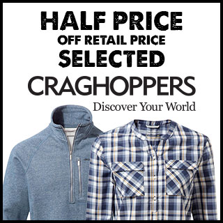 Half Price Selected Craghoppers