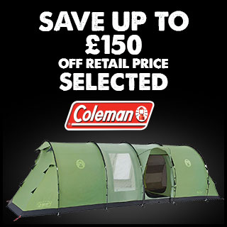 Save up to 150 Selected Coleman