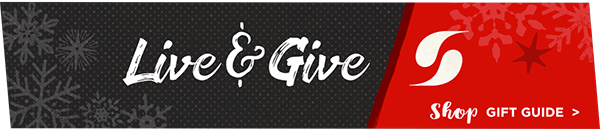 Live and Give. Shop Soffe Gift Guide.