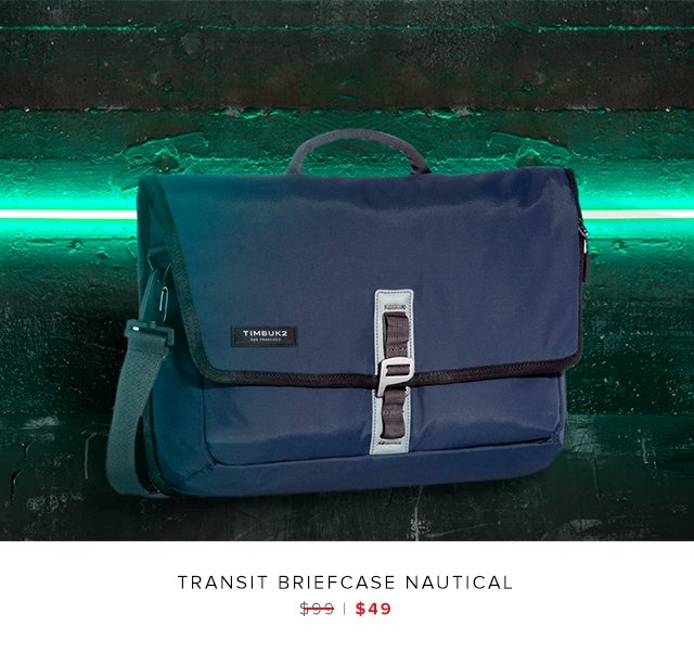 Transit Briefcase Nautical was $99 | now $49