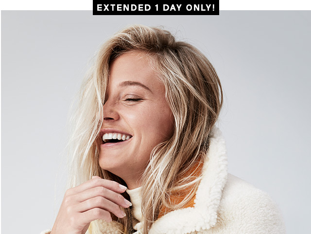 EXTENDED 1 DAY ONLY!