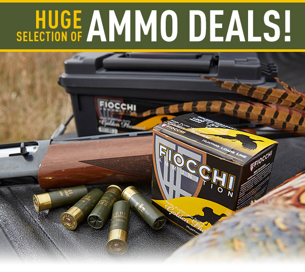 Huge Selection of Ammo Deals!