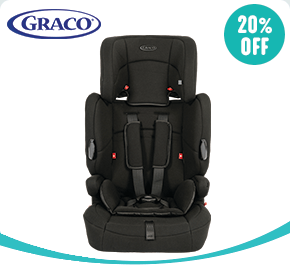 Graco Endure Group 1-2-3 Car Seat Black