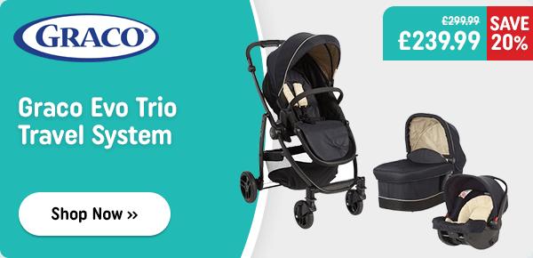 Graco Evo Trio Travel System