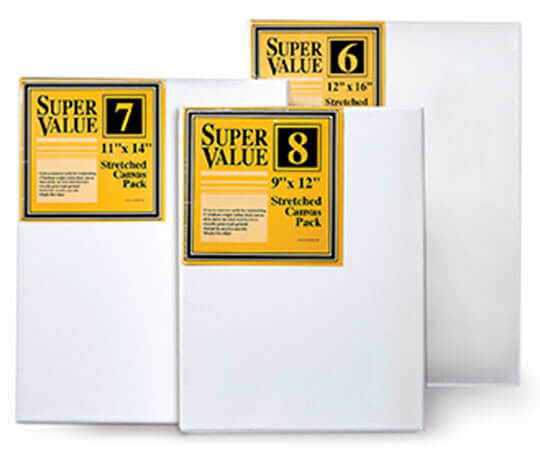 Super Value Canvas Packs.