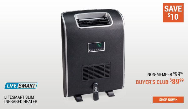 Lifesmart Slim Infrared Heater