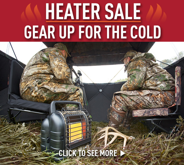 Heater Sale... Gear Up for the Cold!