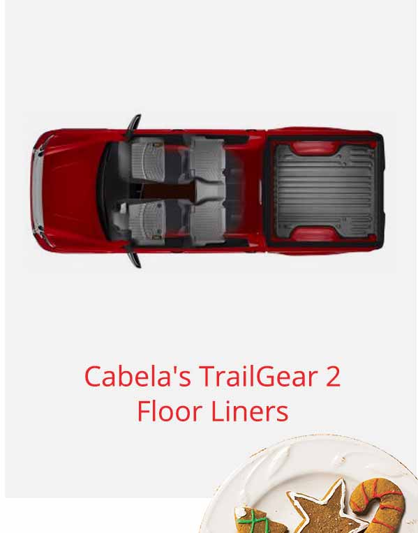 Cabela's TrailGear 2 Floor Liners