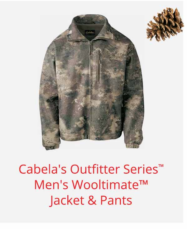 Cabela's Outfitter Series Men's Wooltimate Jacket & Pants