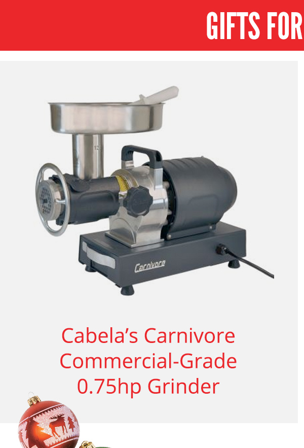 Cabela's Carnivore Commercial-Grade Grinder