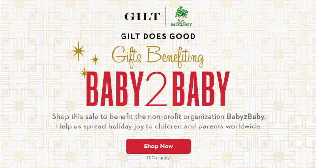 Shop sale to benefit non-profit organization Baby2Baby