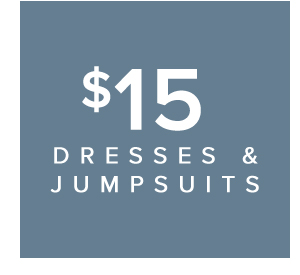 SHOP DRESSES AND JUMPSUITS