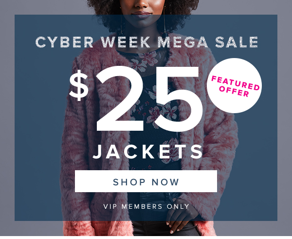 CYBER WEEK MEGA SALE
