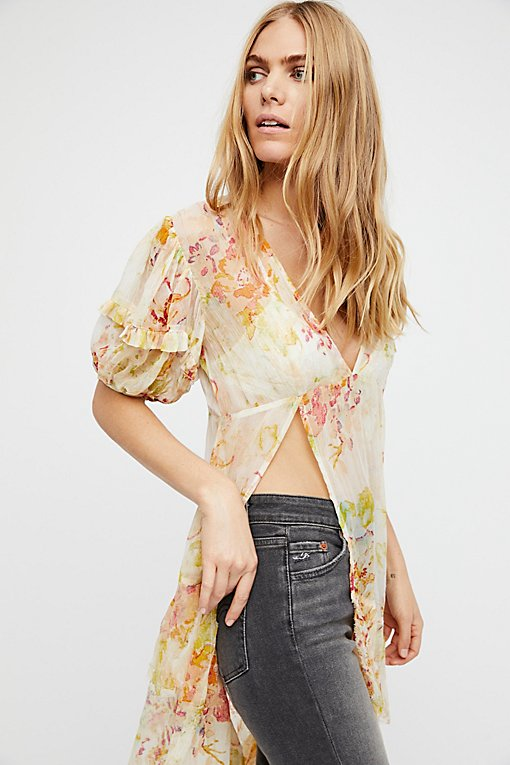 There For You Print Tunic