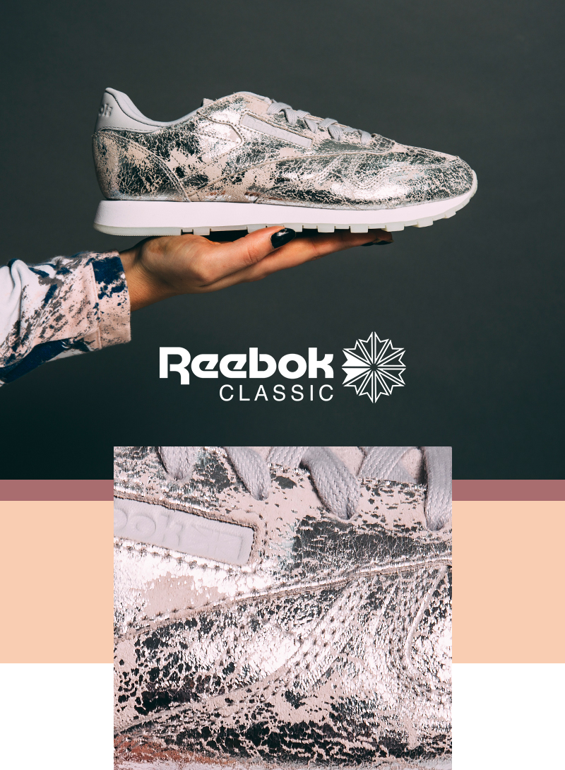 1528215b3b5d6 Soletrader Outlet  Mad for metallic in Reebok