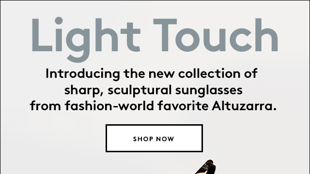Shop the just-launched collection of shades from Altuzarra.