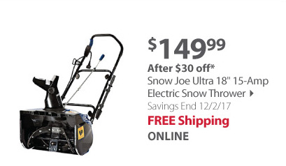 Snow Joe Ultra