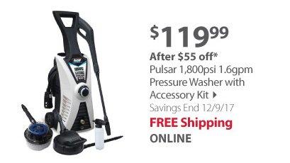 Pulsar Pressure Washer