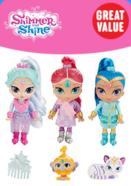 Shimmer and Shine Winter Wishes Genies