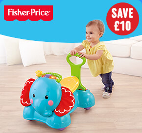 Fisher-Price 3-in-1 Bounce, Stride & Ride Elephant