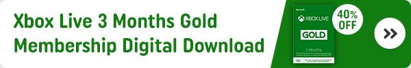 Xbox Live 3 Months Gold Membership Digital Download