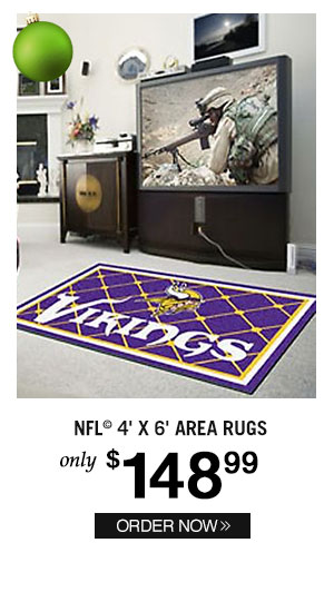 NFL 4' X 6' Area Rugs