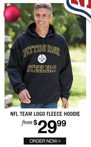 Official NFL Team Logo Hoodie