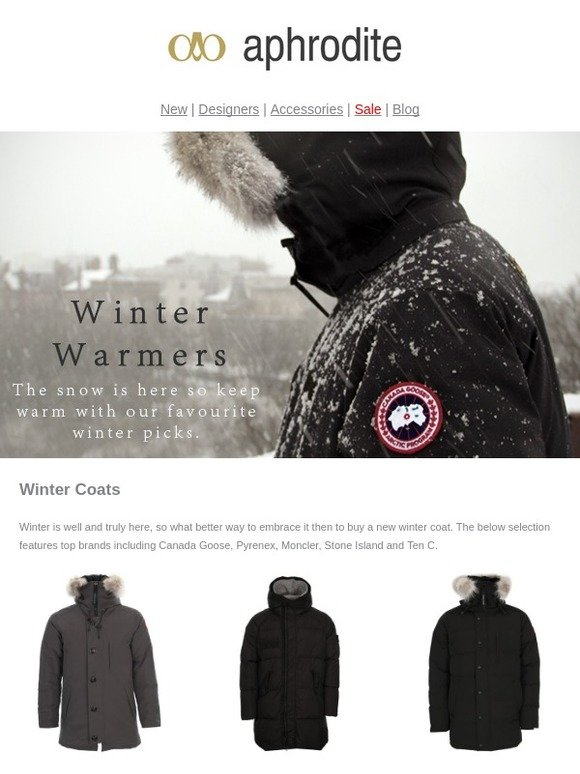 a2e44db64 Aphrodite Clothing: Snow Is Falling So Get Your Winter Warmers At ...