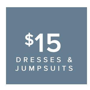 SHOP dresses and jumpsuits