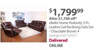 eBello set chocolate
