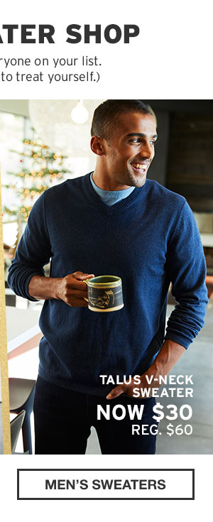 40% OFF YOUR PURCHASE | SHOP MEN'S SWEATERS