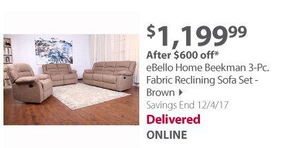 eBello set brown