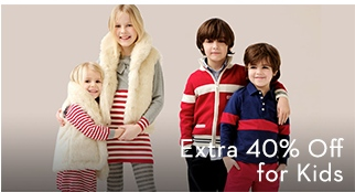 Extra 40% Off for Kids
